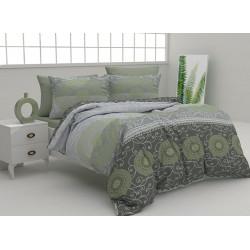 Спално бельо 100% Памук Макгрегър зелено