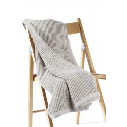 Одеяло от естествени тъкани Marbella beige