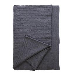 Одеяло 100% Вълна Тирол - сиво