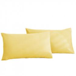 Калъфка за възглавница 100% Памук жълто