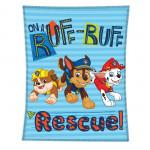 Детско висококачествено одеяло 1+1 Paw Patrol Rescue + Manchester City