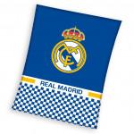 Детско висококачествено одеяло 1+1  Real Madrid