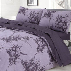 Ранфорс спално бельо Purple connections