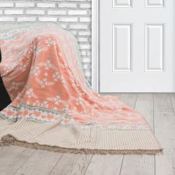 Одеяло от памук Лесли Пинки