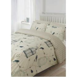 Спално бельо памучен сатен Гнездо за птици