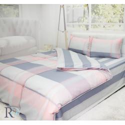 100% Памучен сатен спално бельо Presile