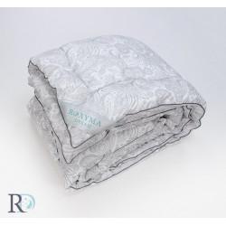 Дебела олекотена завивка Florale Silver щампа