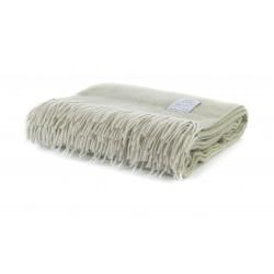 Одеяло от 100% мериносова вълна зелено