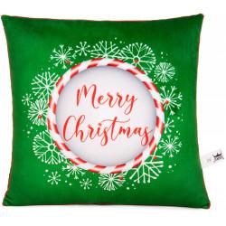 Коледна декоративна възглавница Merry Christmas