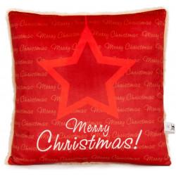 Коледна декоративна възглавница Star