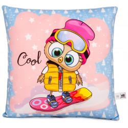 Коледна декоративна възглавница Cool Winter