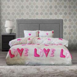 Спално бельо 100% Памук Love