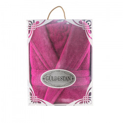 Луксозен хавлиен халат в кутия Бети циклама