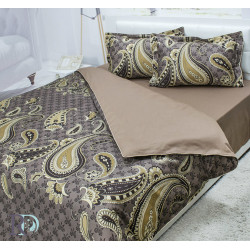 Спално бельо памучен сатен Krassy