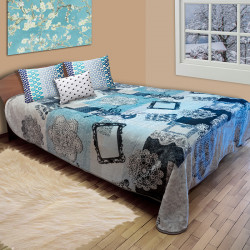 Дебело испанско одеяло Лейс Аква