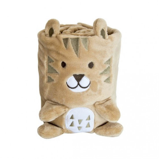 3D бебешко одеяло Лъвче