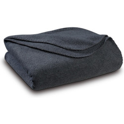 Бюджетно поларено одеяло в сиво