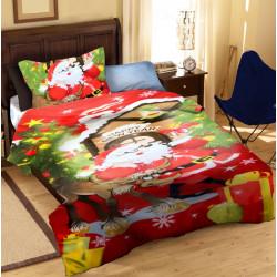 Спално бельо 100% Памук Дядо Коледа
