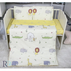 Бутиково спално бельо за бебе Лъвче