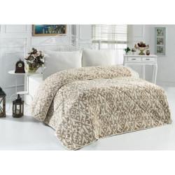 Поларена завивка , одеяло , шалте 3в1 Ornaments