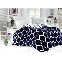 Поларена завивка , одеяло , шалте 3в1 Blacky