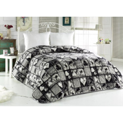Поларена завивка , одеяло , шалте 3в1 Sea