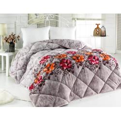 Поларена завивка , одеяло , шалте 3в1 Bella