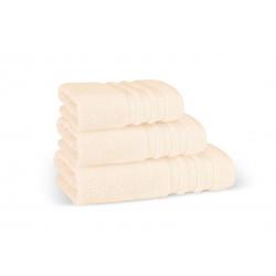 Хавлиена кърпа в пастелно праскова