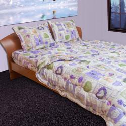 Спално бельо с олекотена завивка Лавандула