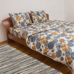 Спално бельо с олекотена завивка Лари