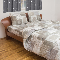 Спално бельо с олекотена завивка Брион