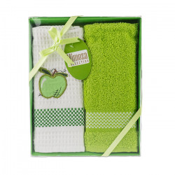 Комплект хавлиени кърпи 2 броя Ябълки