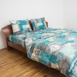 Спално бельо с олекотена завивка Хадли