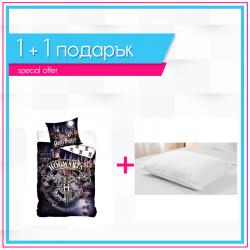 Детско спално бельо Хари Потър + възглавница