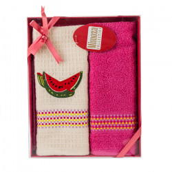 Комплект хавлиени кърпи 2 броя Диня