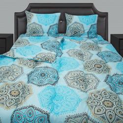 Спално бельо с олекотена завивка Panos аква