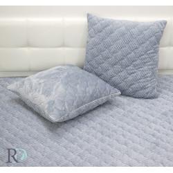Пюшена декоративна възглавница Glo grey