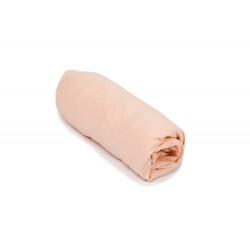 Чаршаф с ластик 100% Памук праскова