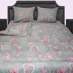 Спално бельо с олекотена завивка Coraly