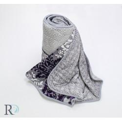 Лятна завивка или одеяло плюш Purple