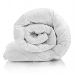 Бяла памучна завивка КОМФОРТ