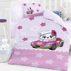 Бебешки спален комплект - малкото коте