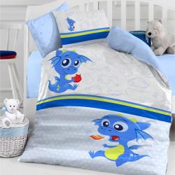 Бебешки спален комплект - малко драконче