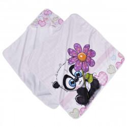 Бебешка пелена Коала с цвете