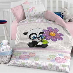 Бебешки спален комплект - коала с цвете