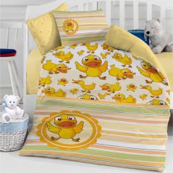 Бебешки спален комплект - жълти патета