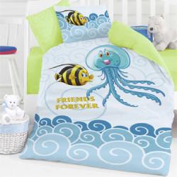Бебешки спален комплект - морски приятели