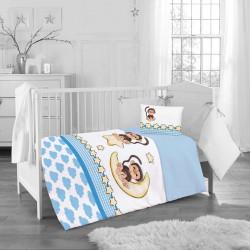 Бебешки спален комплект - весели маймунки
