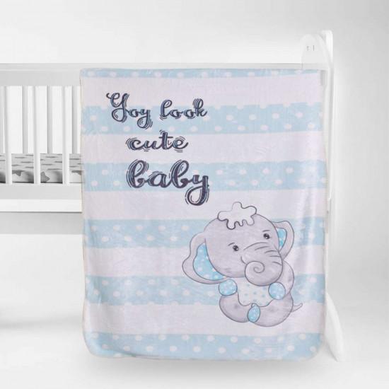 Бебешко одеяло - малкото слонче