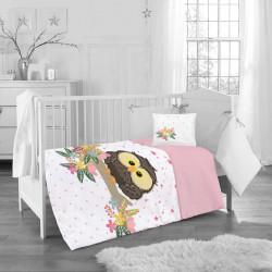 Бебешки спален комплект - малкото бухалче